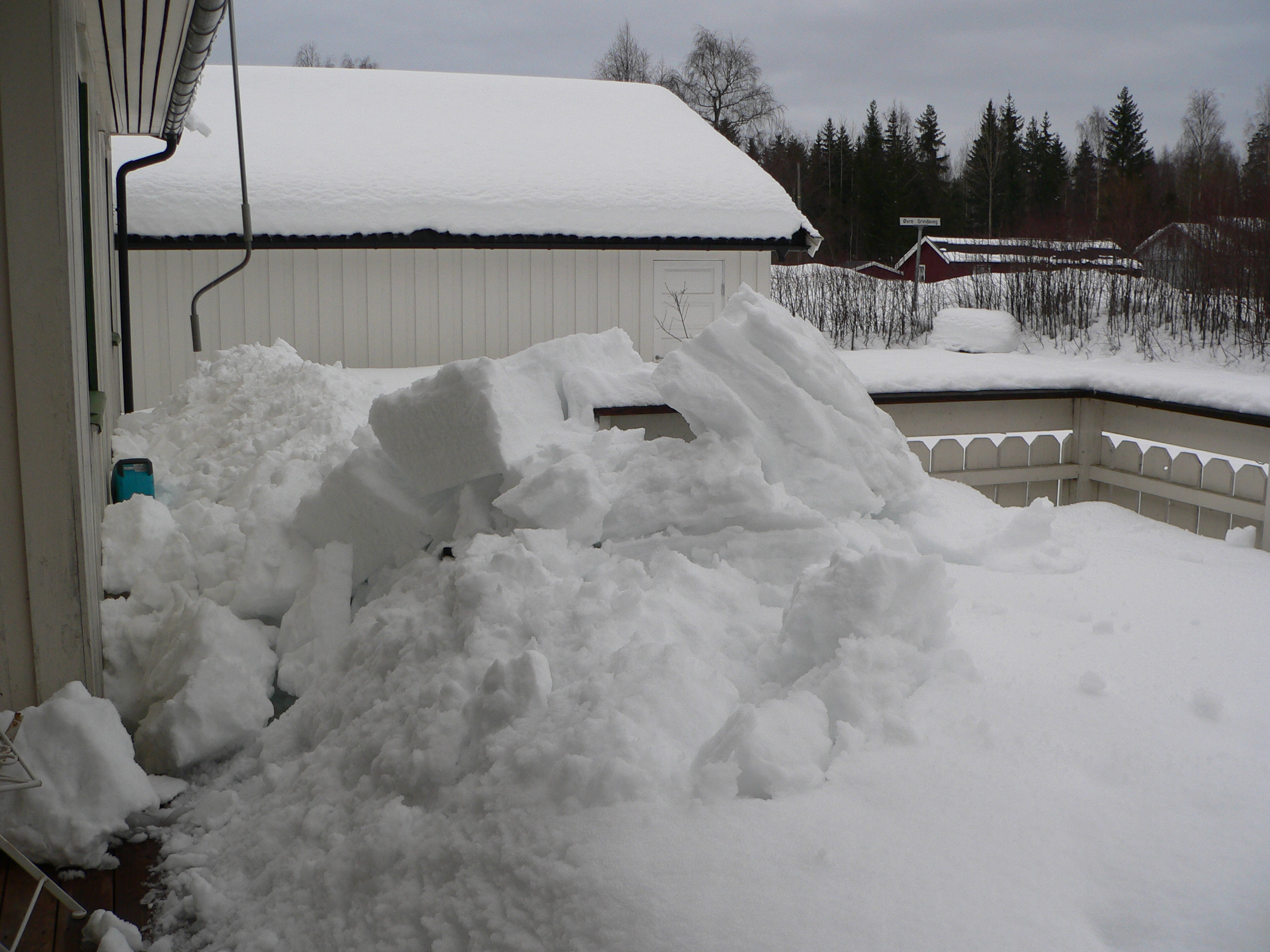 Avalanche terrasse